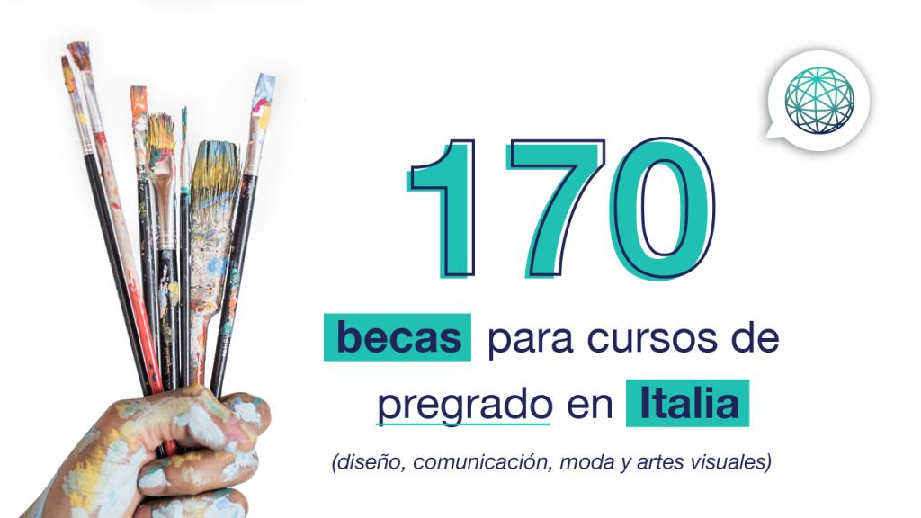 170 becas en italia
