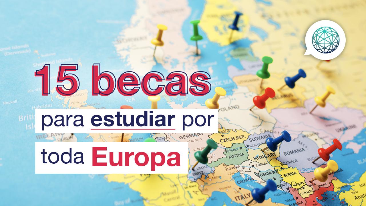 las mejores becas en Europa para estudiar