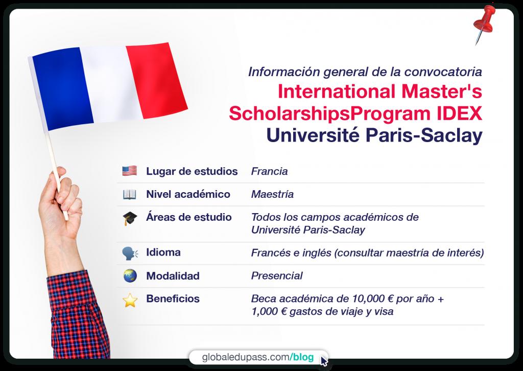 excelente becas en Francia para maestría