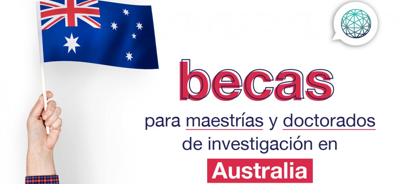 becas en australia para doctorado