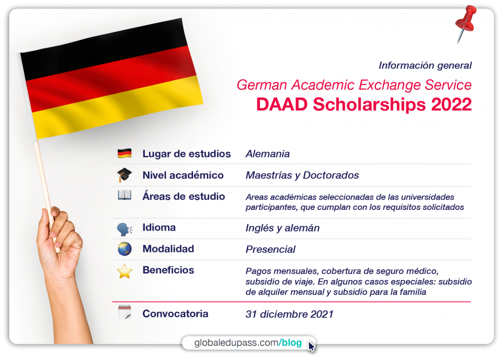 DAAD Scholarships, las mejoresBecas en Alemania
