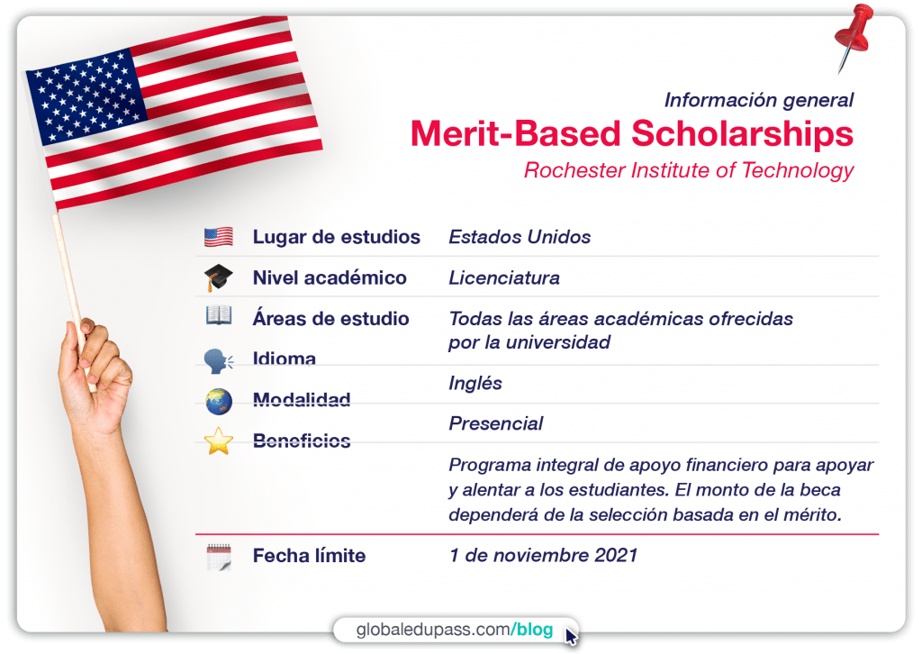 becas en Estados Unidos para estudiar en RIT